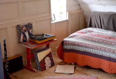 högläsning, te och vinylplattor